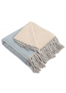 bicolor throw